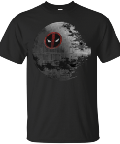 Deadpools Deathstar Cotton T-Shirt