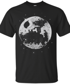 Death Star Disco Cotton T-Shirt