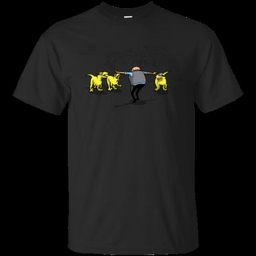 Despicable Raptors jurassic world Cotton T-Shirt