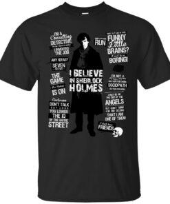 Detective Quotes Cotton T-Shirt
