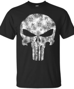 Devil beaten out of the Punisher Cotton T-Shirt