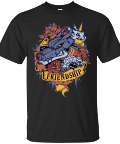 Digital Friendship Cotton T-Shirt