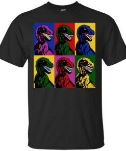 Dinosaur Pop Art Cotton T-Shirt