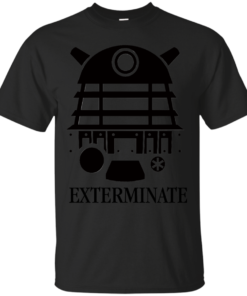 Doctor Who Dalek Exterminate Cotton T-Shirt