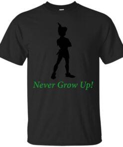 Dont Grow Up Peter Pan Cotton T-Shirt