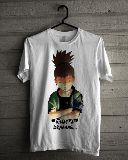 Draaag Smack White Tee T Shirt