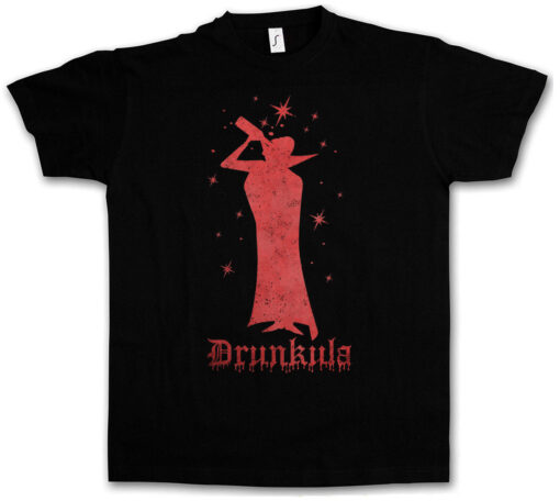 Drunkula Fun Tee Wasted Intoxicated Drunk Drunk Alcohol Hangover Party Get T Shirt