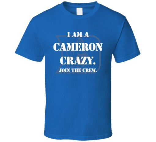 Duke Basketball Cameron Crazy T Shirt