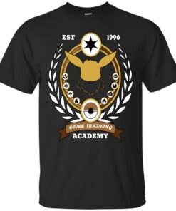 Eevee Training Academy Cotton T-Shirt