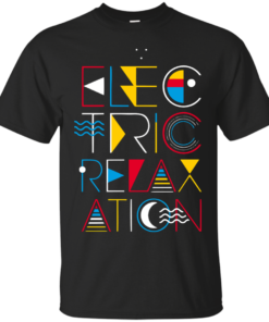 Electric Relaxation Cotton T-Shirt