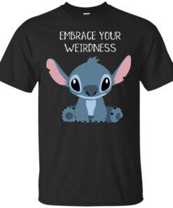 Embrace your weirdness Cotton T-Shirt