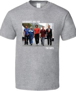 Entourage Saturdays Are For Boys Movie T Shirt