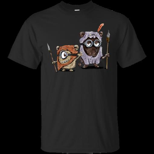 Ewoksion despicable me Cotton T-Shirt