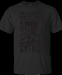 Excellence Is A Habit Vegeta Cotton T-Shirt