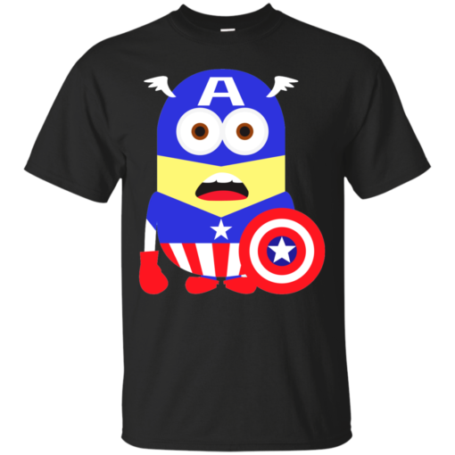 FLAT Mini SteveRog minion Cotton T-Shirt