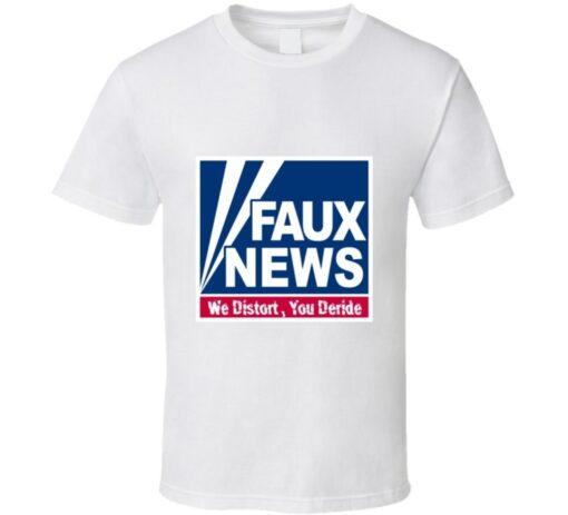 False Fox News Republican T Shirt
