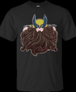 Fear The Beard Bub wolverine Cotton T-Shirt