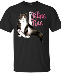 Feline Fine Cotton T-Shirt