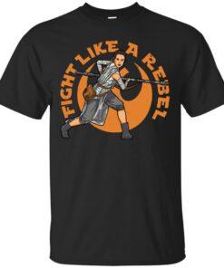 Fight like a Rebel Cotton T-Shirt