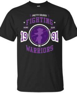 Fighting Saturn Cotton T-Shirt