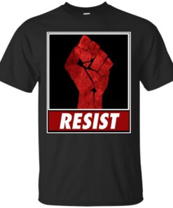 Fist Of Resistance Cotton T-Shirt