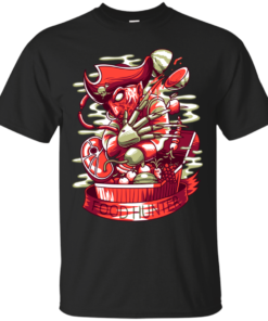 Freddy the Food Hunter sharp Cotton T-Shirt