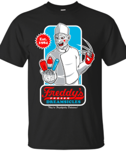 Freddys Dreamsicles a nightmare on elm street Cotton T-Shirt
