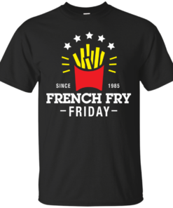 French Fry Friday holiday Cotton T-Shirt