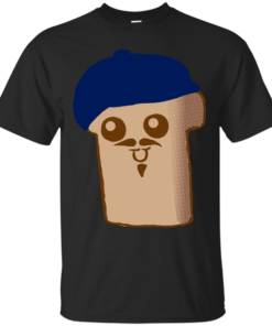 French Toast Cartoon Character humorous Cotton T-Shirt