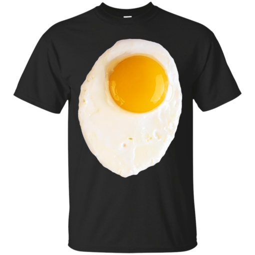 Fried Egg funny Cotton T-Shirt