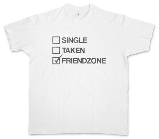 Friend Zone Ii Hand Hands Heart Hearts Thumps Up Friend Fun Zone Single T Shirt