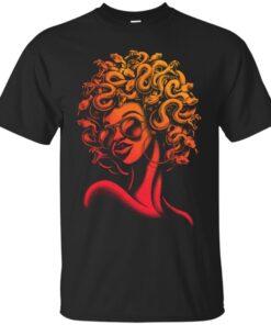 Funky Medusa II Cotton T-Shirt