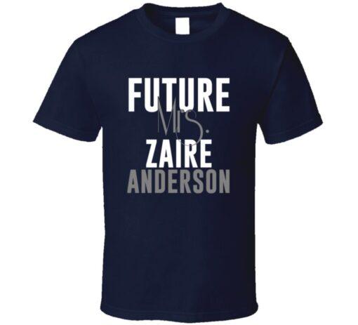 Future Mrs. Anderson Zaire Denver Football Jersey T Shirt