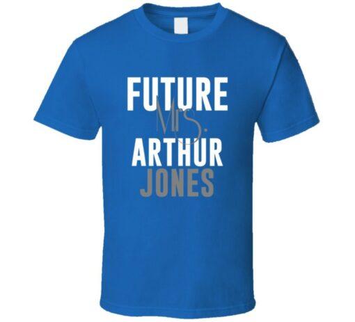 Future Mrs. Arthur Jones Indianapolis Football Jersey T Shirt