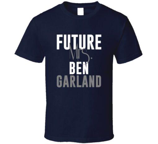 Future Mrs. Ben Garland Denver Football Jersey T Shirt