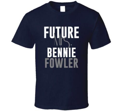Future Mrs. Bennie Fowler Denver Football Jersey T Shirt