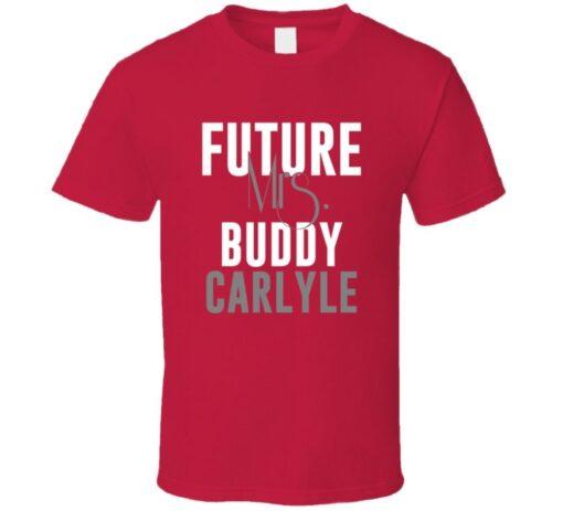 Future Mrs. Buddy Carlyle 2009 Atlanta Baseball T Shirt