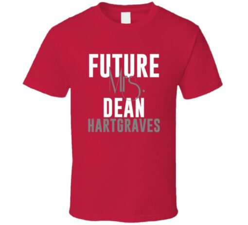 Future Mrs. Dean Hartgraves 1996 Atlanta Baseball T Shirt