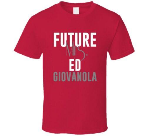 Future Mrs. Ed Giovanola 1997 Atlanta Baseball T Shirt