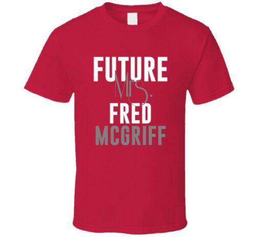 Future Mrs. Fred Mcgriff Atlanta Baseball 1997 T T Shirt