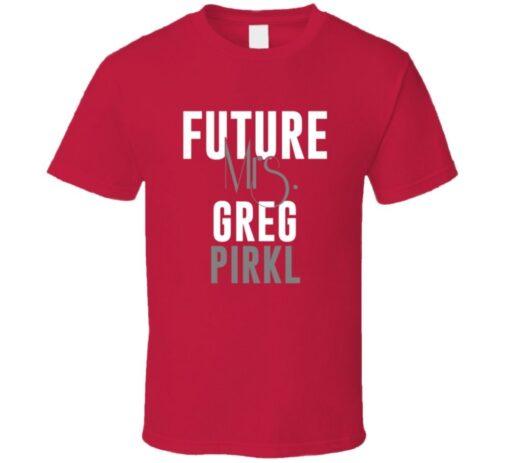 Future Mrs. Greg Pirkl 1996 Boston Baseball T Shirt