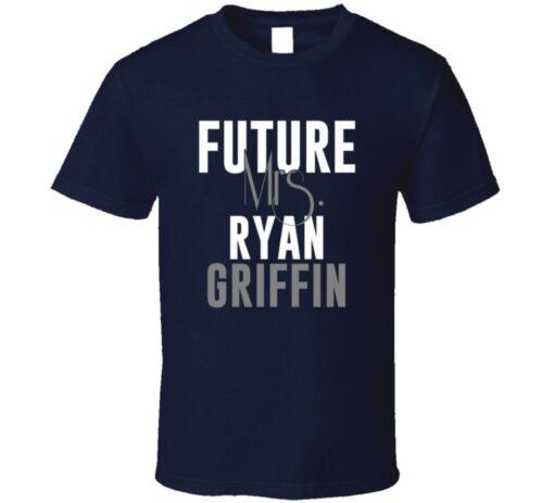 Future Mrs. Griffin Ryan Houston Football Jersey T Shirt