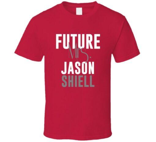 Future Mrs. Jason Shiell 2006 Atlanta Baseball T Shirt
