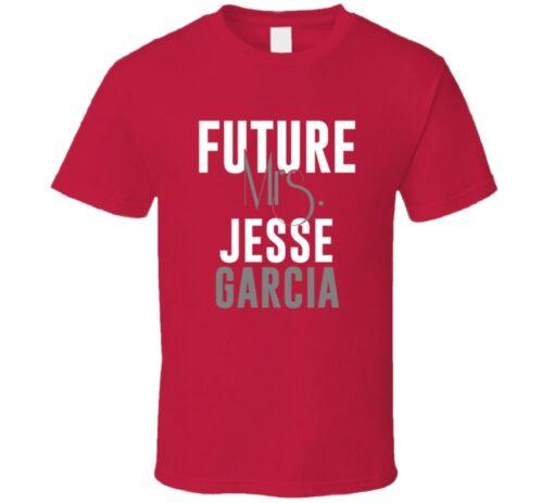 Future Mrs. Jesse Garcia 2004 Atlanta Baseball T Shirt