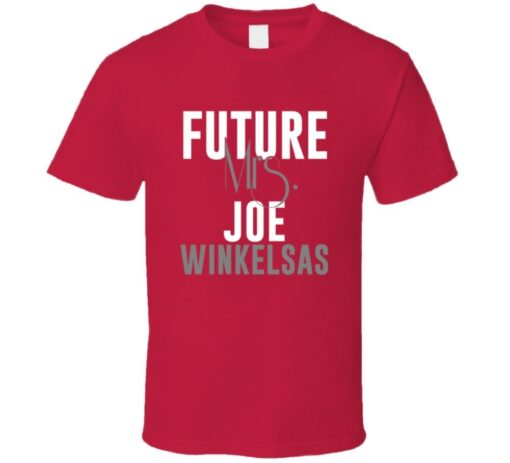 Future Mrs. Joe Winkelsas 1999 Atlanta Baseball T Shirt