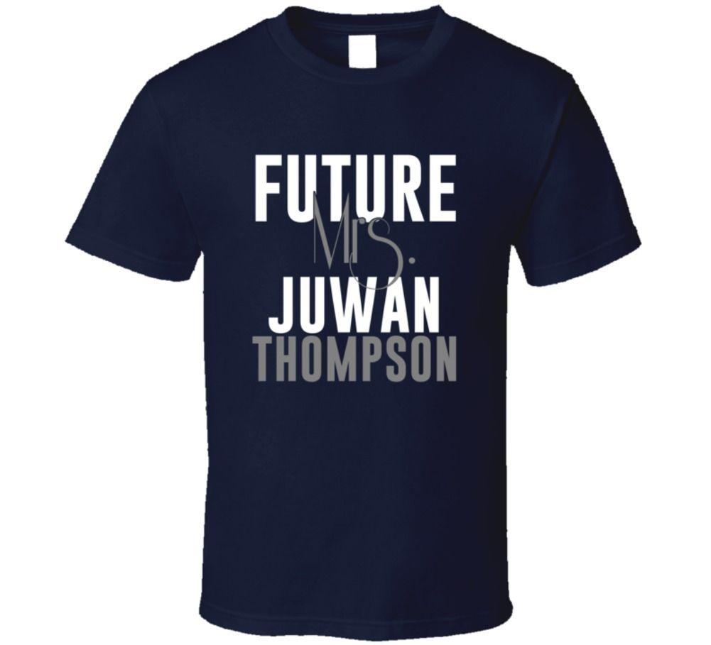 Future Mrs. Juwan Thompson Denver Football Jersey T Shirt