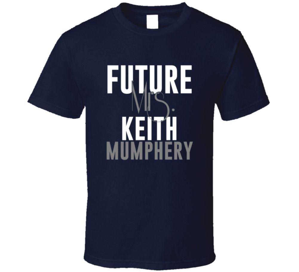 Future Mrs. Keith Mumphery Houston Football Jersey T Shirt