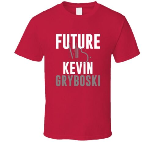 Future Mrs. Kevin Gryboski 2005 Atlanta Baseball T Shirt