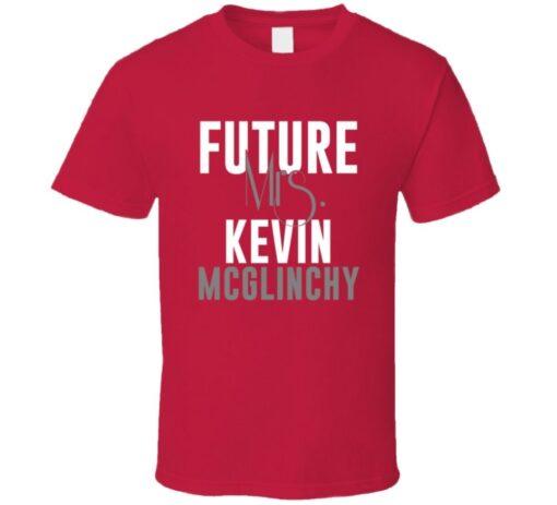 Future Mrs. Kevin Mcglinchy 2000 Atlanta Baseball T Shirt