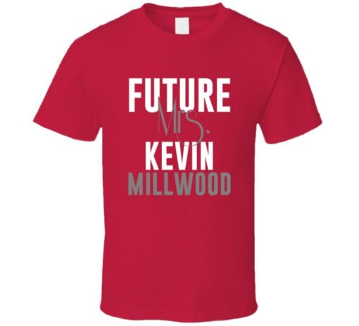 Future Mrs. Kevin Millwood 2002 Atlanta Baseball T Shirt